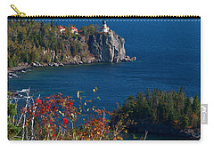 Cliffside Scenic Vista Carry-all Pouch by James Peterson