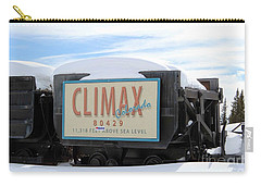 Climax Colorado Carry-all Pouch by Fiona Kennard