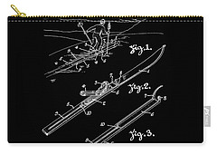 Climber For Skis 1939 Russell Patent Art Carry-all Pouch