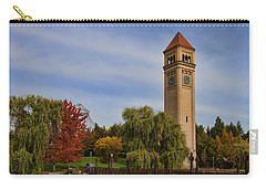 Clocktower Fall Colors Carry-all Pouch