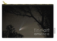 Carry-all Pouch featuring the photograph Close Encounter by Nick  Boren