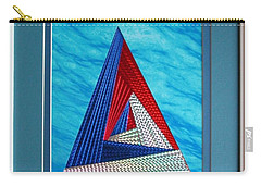 Carry-all Pouch featuring the mixed media Close Encounter by Ron Davidson