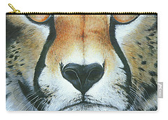 Carry-all Pouch featuring the painting Close To The Soul by Mike Brown