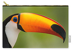 Close-up Of A Toco Toucan Ramphastos Carry-all Pouch
