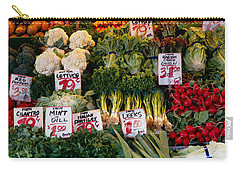 Close-up Of Pike Place Market, Seattle Carry-all Pouch by Panoramic Images