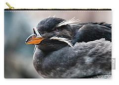 Close-up Of Rhinoceros Auklet Carry-all Pouch