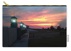 Closed Flood Gates Sunset Carry-all Pouch