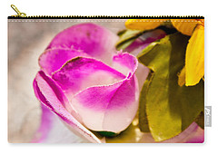 Cloth Rose Bud Carry-all Pouch