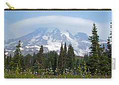Cloud Capped Rainier Carry-all Pouch