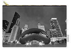 Cloud Gate And Skyline Carry-all Pouch by Adam Romanowicz