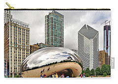 Cloud Gate In Chicago Carry-all Pouch