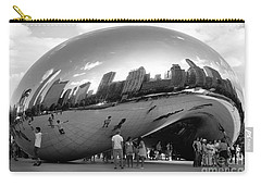 Cloud Gate Monument Carry-all Pouch by Randi Grace Nilsberg