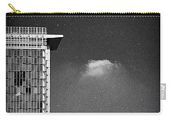Carry-all Pouch featuring the photograph Cloud Lamp Building by Silvia Ganora