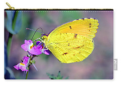 Cloudless Sulphur Carry-all Pouch by Deena Stoddard