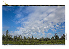 Clouds Carry-all Pouch by Charlie Duncan