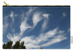 Carry-all Pouch featuring the photograph Clouds by David S Reynolds