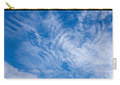 Carry-all Pouch featuring the photograph Clouds by Liz  Alderdice