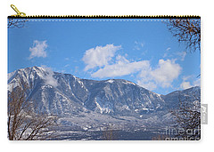 Clouds Low On Lamborn Co Carry-all Pouch