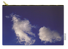 Carry-all Pouch featuring the photograph Clouds by Mark Greenberg