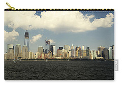 Clouds Over New York Skyline Carry-all Pouch