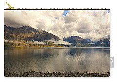 Carry-all Pouch featuring the photograph Clouds Over Wakatipu #1 by Stuart Litoff
