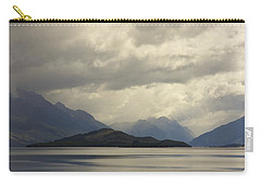 Carry-all Pouch featuring the photograph Clouds Over Wakatipu #2 by Stuart Litoff