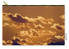 Key West Cloudy Sunset Carry-all Pouch