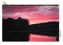 Cloudy Sunset Carry-all Pouch by Dave Files