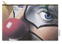 Clown Mural Carry-all Pouch by Bob Christopher