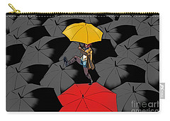 Clowning On Umbrellas 01 - A11 Carry-all Pouch