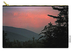 Clucks West Ossipee Mountain Sundown Carry-all Pouch