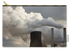 Coal Power Station Blasting Away Carry-all Pouch