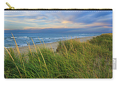 Coast Guard Beach Cape Cod Carry-all Pouch by Bill Wakeley