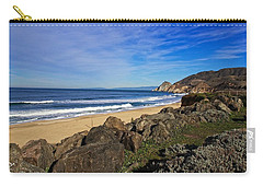 Carry-all Pouch featuring the photograph Coastal Beauty by Dave Files
