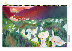 Coastal Callas Carry-all Pouch