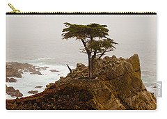 Coastline Cypress Carry-all Pouch by Melinda Ledsome
