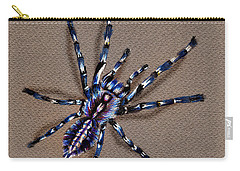 Cobalt Blue Tarantula Carry-all Pouch