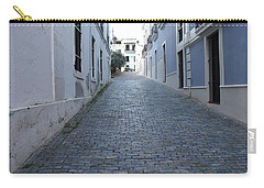 Carry-all Pouch featuring the photograph Cobble Street by David S Reynolds