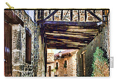 Cobble Streets Of Potes Spain By Diana Sainz Carry-all Pouch