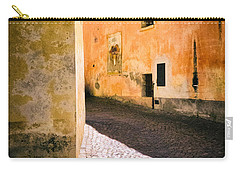 Carry-all Pouch featuring the photograph Cobbled Street by Silvia Ganora