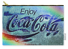 Coca Cola Rainbow Carry-all Pouch