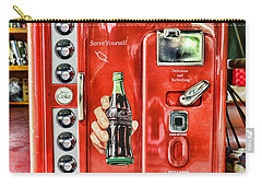 Coca-cola Retro Style Carry-all Pouch by Paul Ward