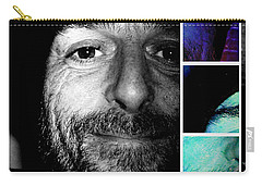 Carry-all Pouch featuring the photograph Coca In Part 2 by Sir Josef - Social Critic - ART