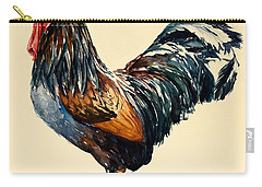 Cockerel Carry-all Pouch by Alison Cooper