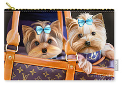 Coco And Lola Carry-all Pouch