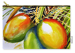 Coconuts Carry-all Pouch by Carlin Blahnik