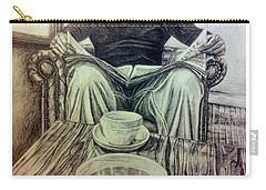 Coffee Break Carry-all Pouch by R Muirhead Art