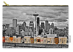 Coffee Capital Carry-all Pouch by Benjamin Yeager