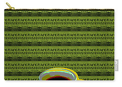 Carry-all Pouch featuring the digital art Coffee Cup Pop Art by Jean luc Comperat