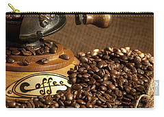 Coffee Grinder With Beans Carry-all Pouch